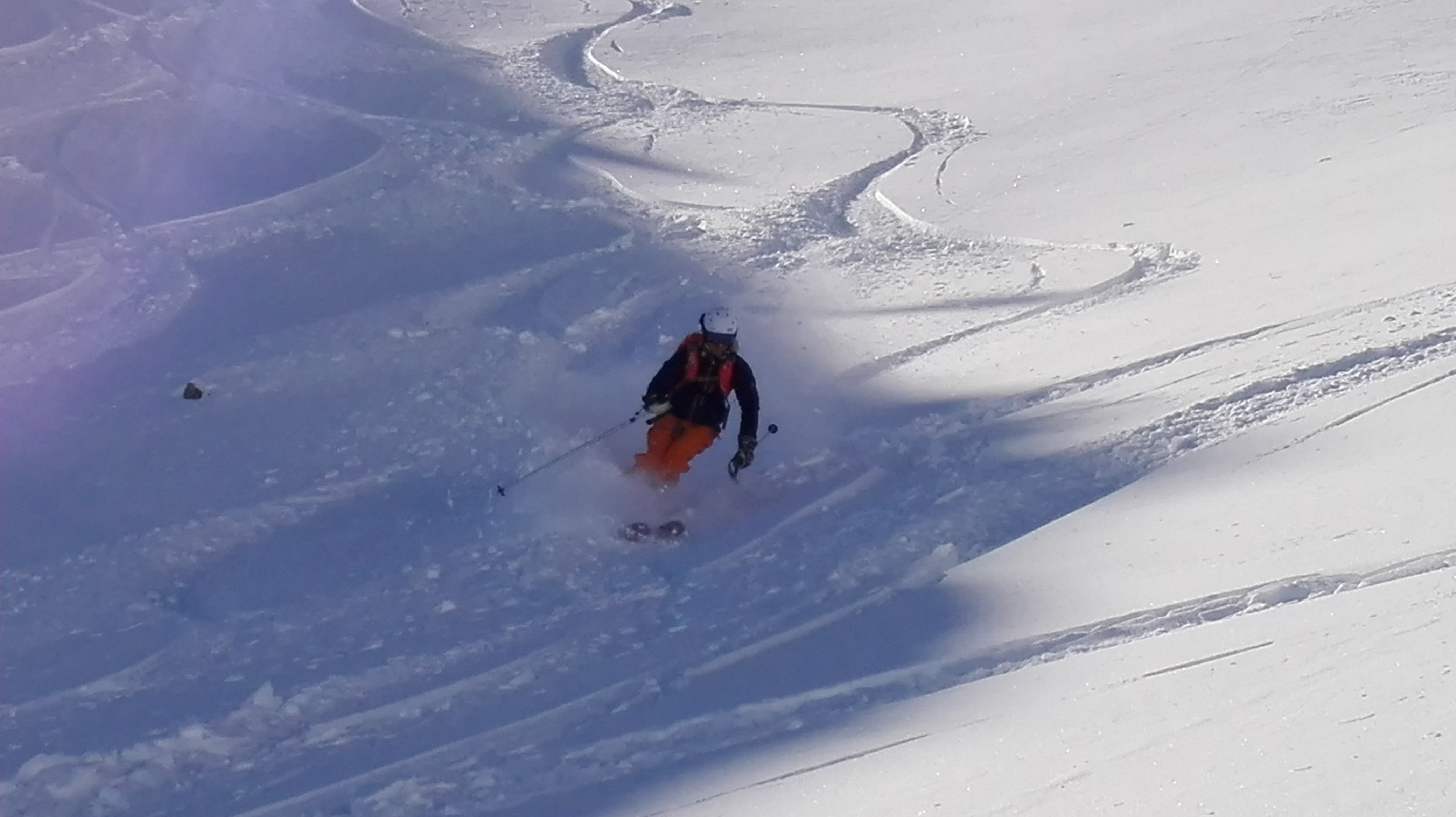 5 mornings off-piste skiing course 3 Vallées Val Thorens