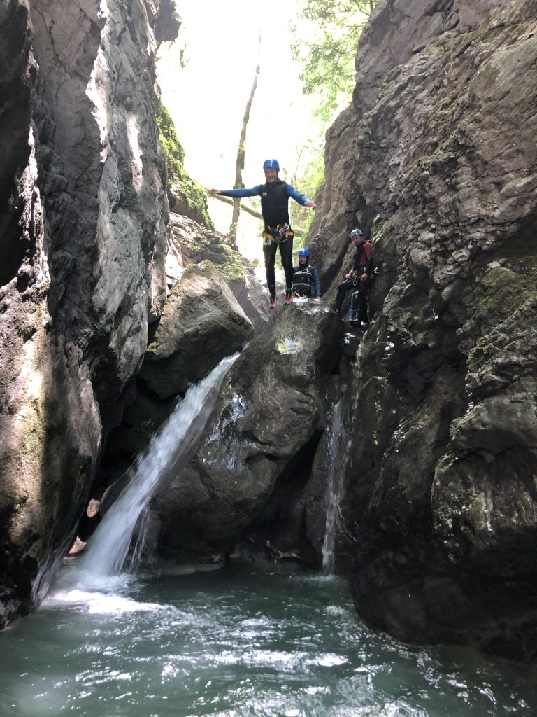 canyoning mountain montagne water eau